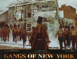 Gangs of New York - 11 x 14 Poster French Style C