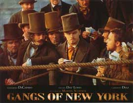 Gangs of New York - 11 x 14 Poster French Style F