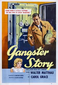 Gangster Story - 11 x 17 Movie Poster - Style A