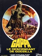 Gappa the Triphibian Monsters - 11 x 17 Movie Poster - French Style A