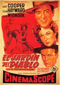 Garden of Evil - 11 x 17 Movie Poster - Spanish Style A