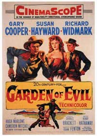 Garden of Evil - 11 x 17 Movie Poster - Style A