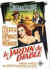Garden of Evil - 11 x 17 Movie Poster - French Style B