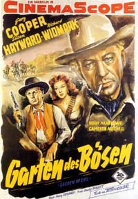 Garden of Evil - 11 x 17 Movie Poster - German Style A