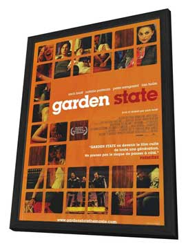 Garden State - 11 x 17 Movie Poster - French Style A - in Deluxe Wood Frame