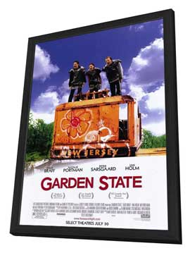 Garden State - 27 x 40 Movie Poster - Style B - in Deluxe Wood Frame