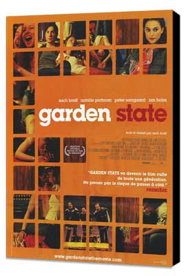 Garden State - 11 x 17 Movie Poster - French Style A - Museum Wrapped Canvas