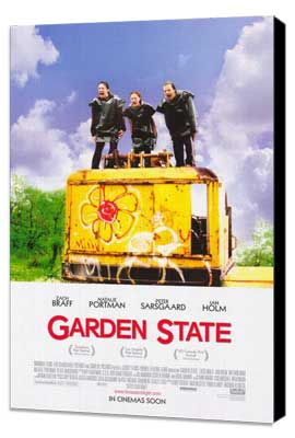 Garden State - 27 x 40 Movie Poster - Style C - Museum Wrapped Canvas