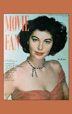 Ava Gardner - 11 x 17 Movie Fan Magazine Cover 1940's Style A