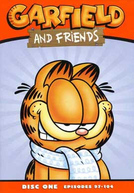 Garfield and Friends - 11 x 17 Movie Poster - Style D