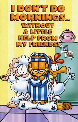 Garfield and Friends - 27 x 40 Movie Poster - Style N