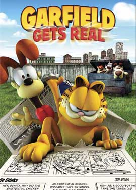 Garfield Gets Real - 27 x 40 Movie Poster - Style A