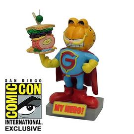 Garfield - Cat My Hero SDCC 2012 Exclusive Bobble Head