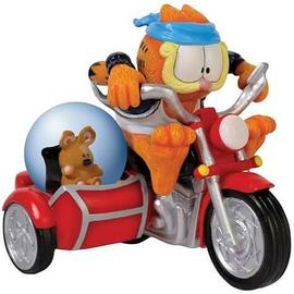 Garfield - Fastest Cat in Town Water Globe Statue