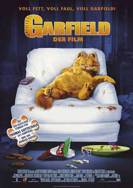 Garfield - 27 x 40 Movie Poster - German Style A