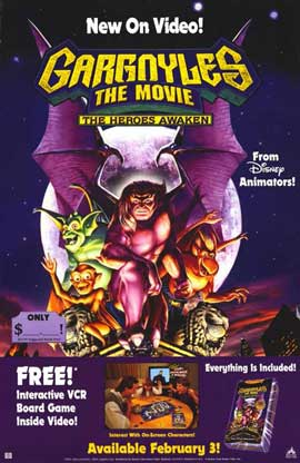 Gargoyles: The Heroes Awaken - 11 x 17 Movie Poster - Style A