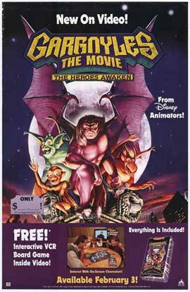 Gargoyles: The Heroes Awaken - 27 x 40 Movie Poster - Style A