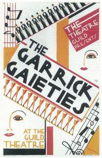 Garrick Gaieties (Broadway) - 11 x 17 Poster - Style A