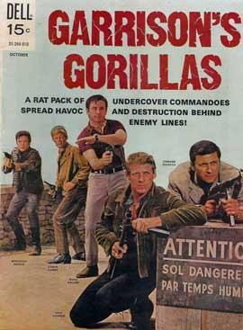 Garrison's Gorillas (TV) - 11 x 17 TV Poster - Style B