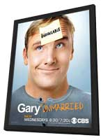 Gary Unmarried - 11 x 17 TV Poster - Style A - in Deluxe Wood Frame