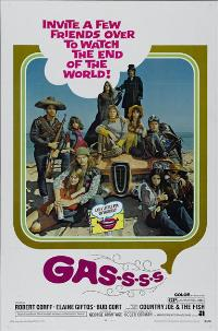 Gas! -Or- It Became Necessary to Destroy the World in Order to Save It. - 43 x 62 Movie Poster - Bus Shelter Style A