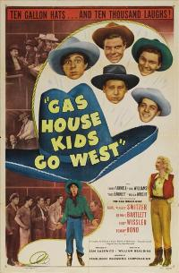 Gas House Kids Go West - 27 x 40 Movie Poster - Style A