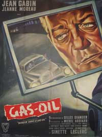 Gas-Oil - 11 x 17 Movie Poster - French Style A