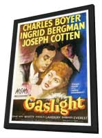 Gaslight - 11 x 17 Movie Poster - Style A - in Deluxe Wood Frame