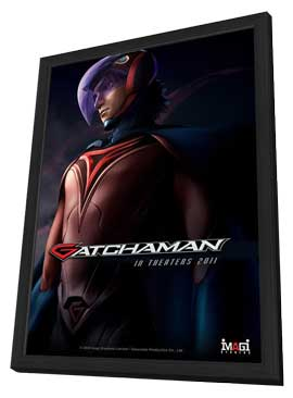 Gatchaman - 11 x 17 Movie Poster - Style B - in Deluxe Wood Frame