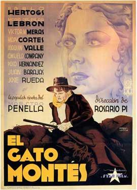 Gato Montes, El - 27 x 40 Movie Poster - Spanish Style A