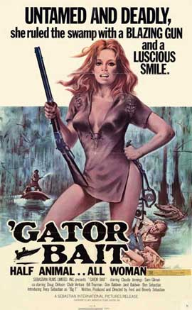 Gator Bait - 11 x 17 Movie Poster - Style A