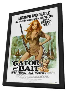 Gator Bait - 11 x 17 Movie Poster - Style C - in Deluxe Wood Frame