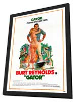 Gator - 27 x 40 Movie Poster - Style A - in Deluxe Wood Frame