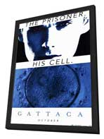 Gattaca - 11 x 17 Movie Poster - Style C - in Deluxe Wood Frame