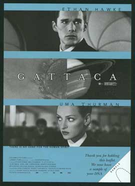 Gattaca - 11 x 17 Movie Poster - Style F