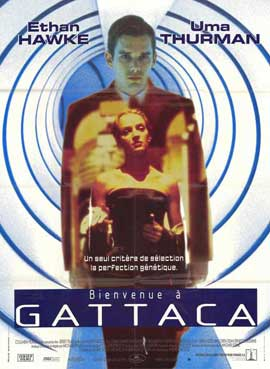 Gattaca - 27 x 40 Movie Poster - French Style A