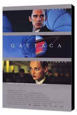 Gattaca - 27 x 40 Movie Poster - Style C - Museum Wrapped Canvas