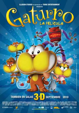 Gaturro - 11 x 17 Movie Poster - Danish Style A