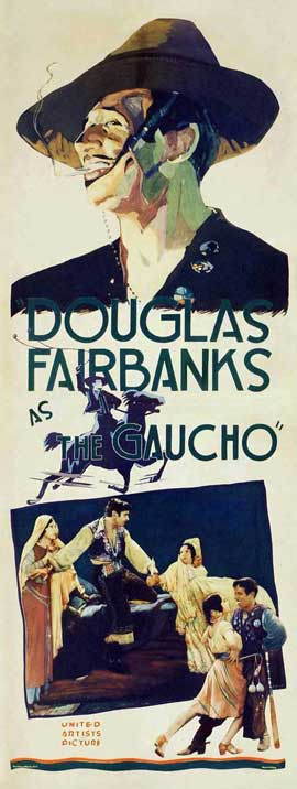 The Gaucho - 14 x 36 Movie Poster - Insert Style A
