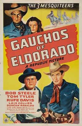 Gauchos of El Dorado - 27 x 40 Movie Poster - Style A