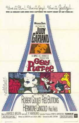 Gay Purr-ee - 27 x 40 Movie Poster - Style A