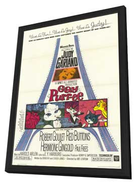 Gay Purr-ee - 11 x 17 Movie Poster - Style A - in Deluxe Wood Frame