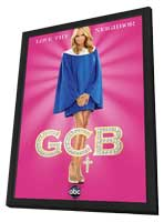 GCB (TV) - 11 x 17 TV Poster - Style A - in Deluxe Wood Frame