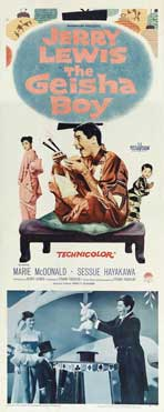 The Geisha Boy - 14 x 36 Movie Poster - Insert Style A