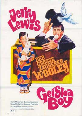 The Geisha Boy - 11 x 17 Movie Poster - German Style A