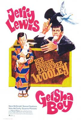 The Geisha Boy - 27 x 40 Movie Poster - German Style A