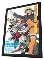 Gekijo-ban Naruto shippuden - 27 x 40 Movie Poster - Taiwanese Style A - in Deluxe Wood Frame