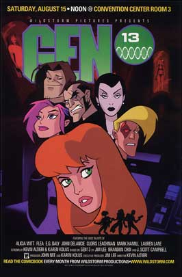 Gen 13 - 11 x 17 Movie Poster - Style A