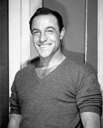 Gene Kelly - Gene Kelly smiling in Shirt