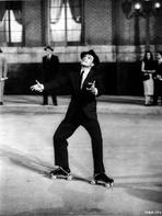 Gene Kelly - Gene Kelly Classic Portrait with Roller Skates